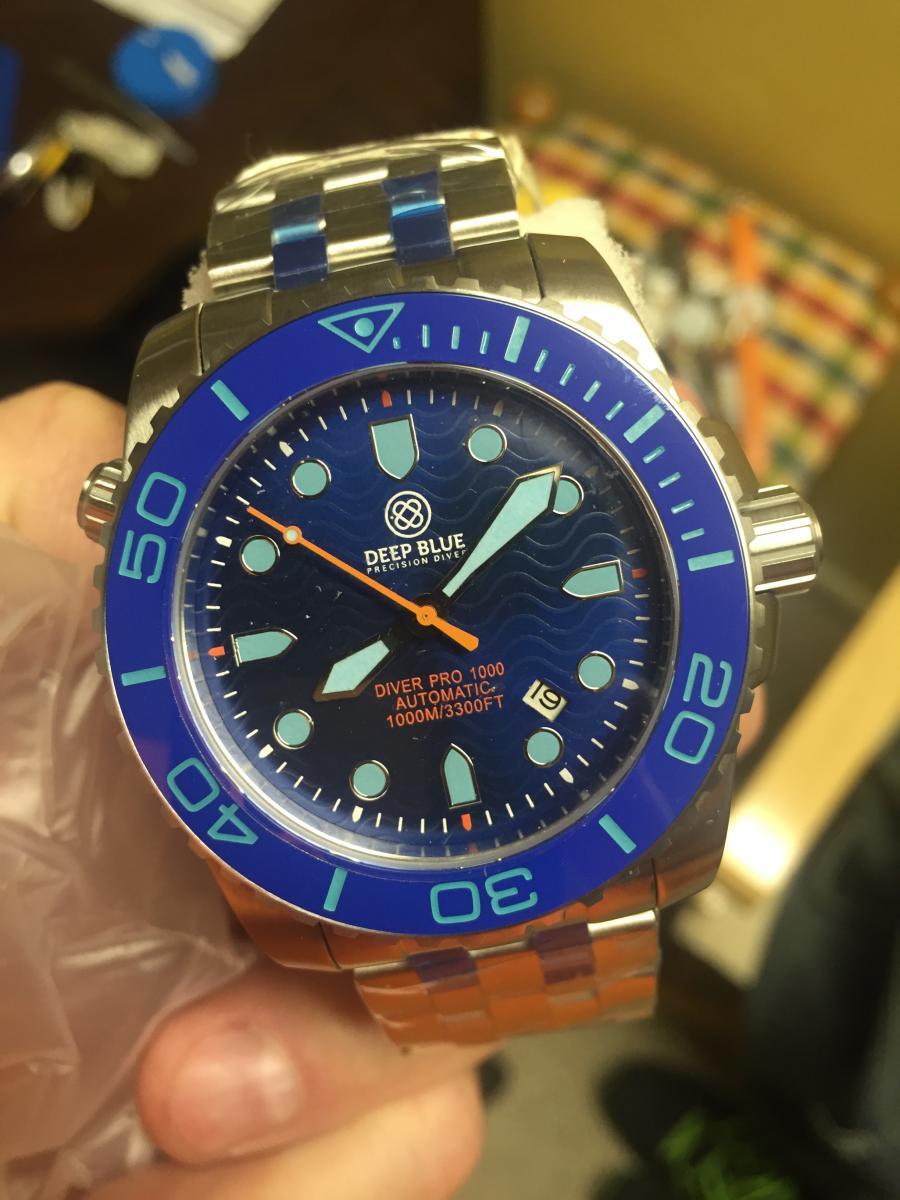 New pro diver 1000 watch freeks - Dive deep blue ...