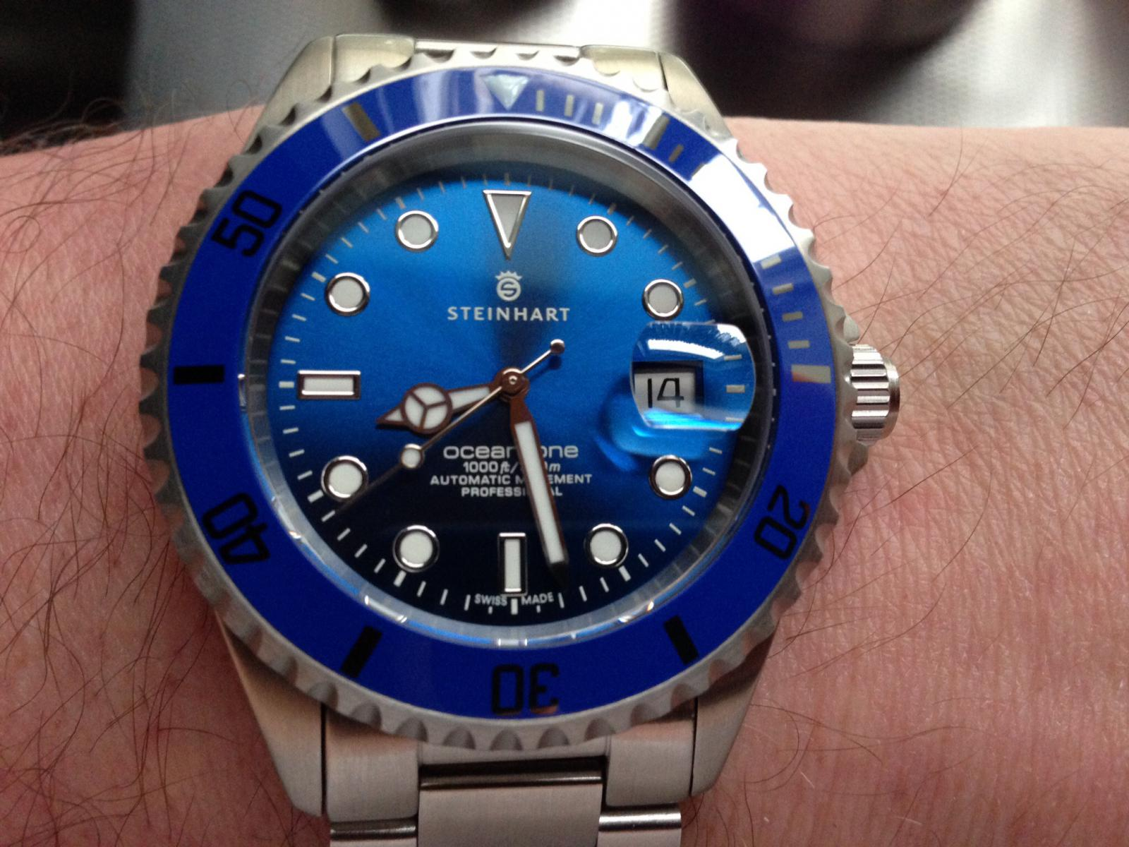 Steinhart Ocean One Premium Blue arrived. Added more pics post 11-image.jpg