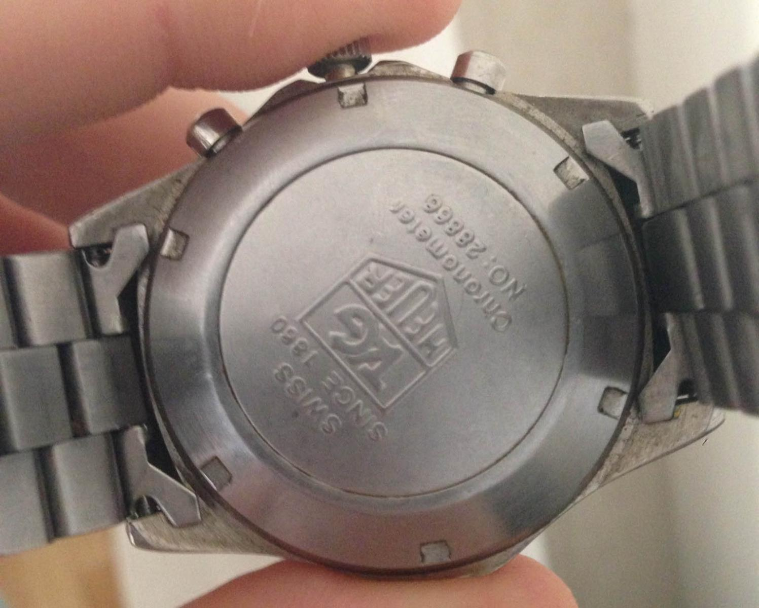 To Do Tag: Genuine Or Fake Tag Heuer