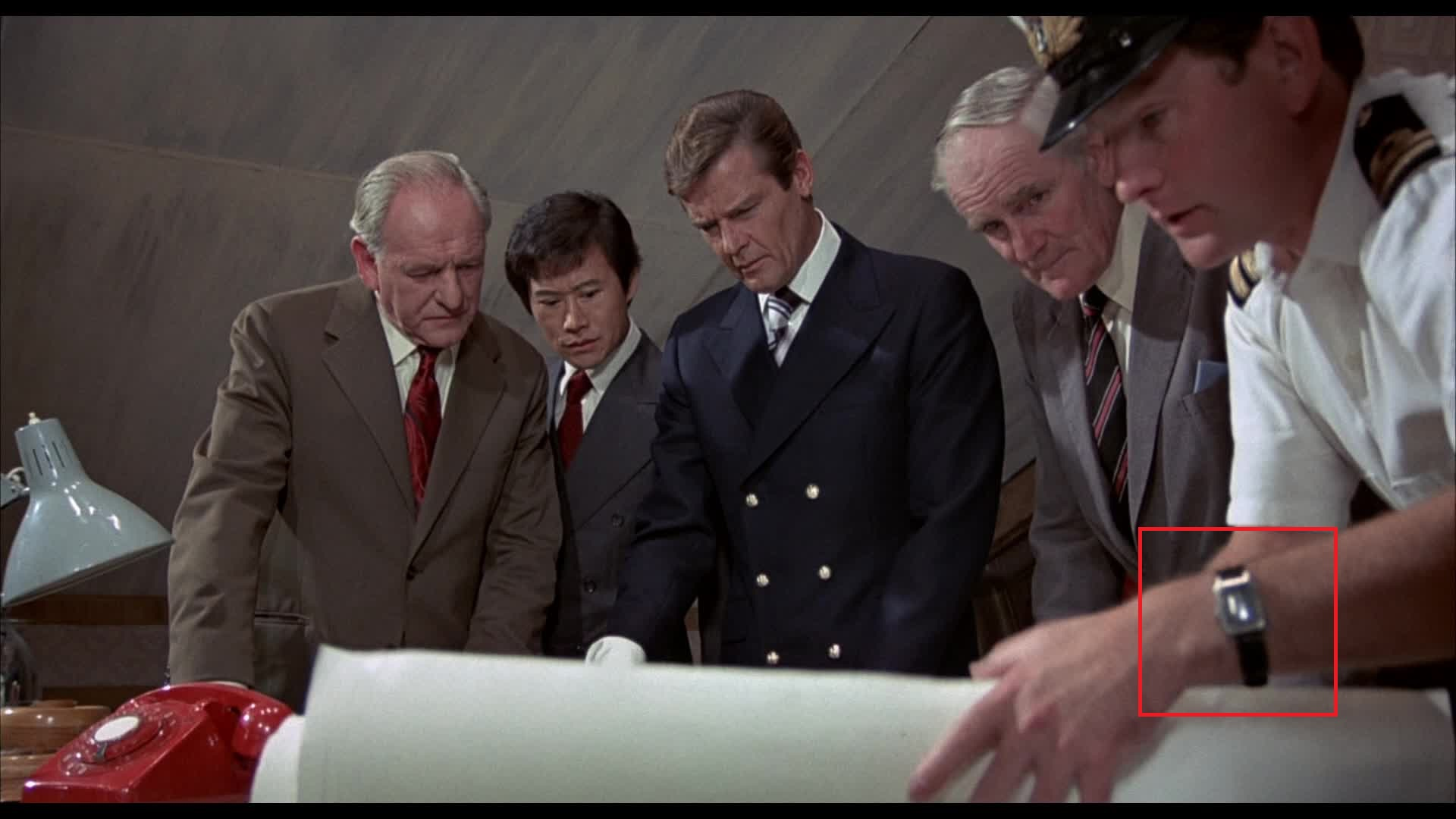 Watches In The Man With The Golden Gun 1974 Watch Freeks