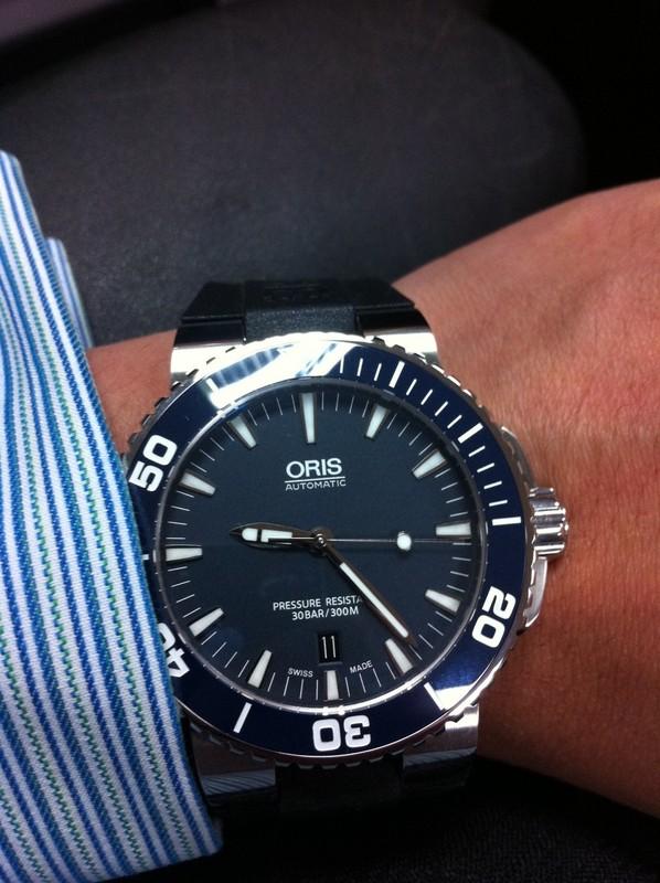 Oris Aquis Date Or Tissot Seastar Watch Freeks