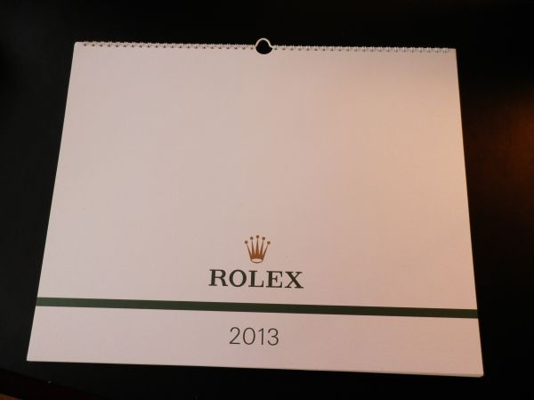 FREEKY GIVEAWAY - Win A 2013 Rolex Dealer Calender - New-rolex2013one.jpg