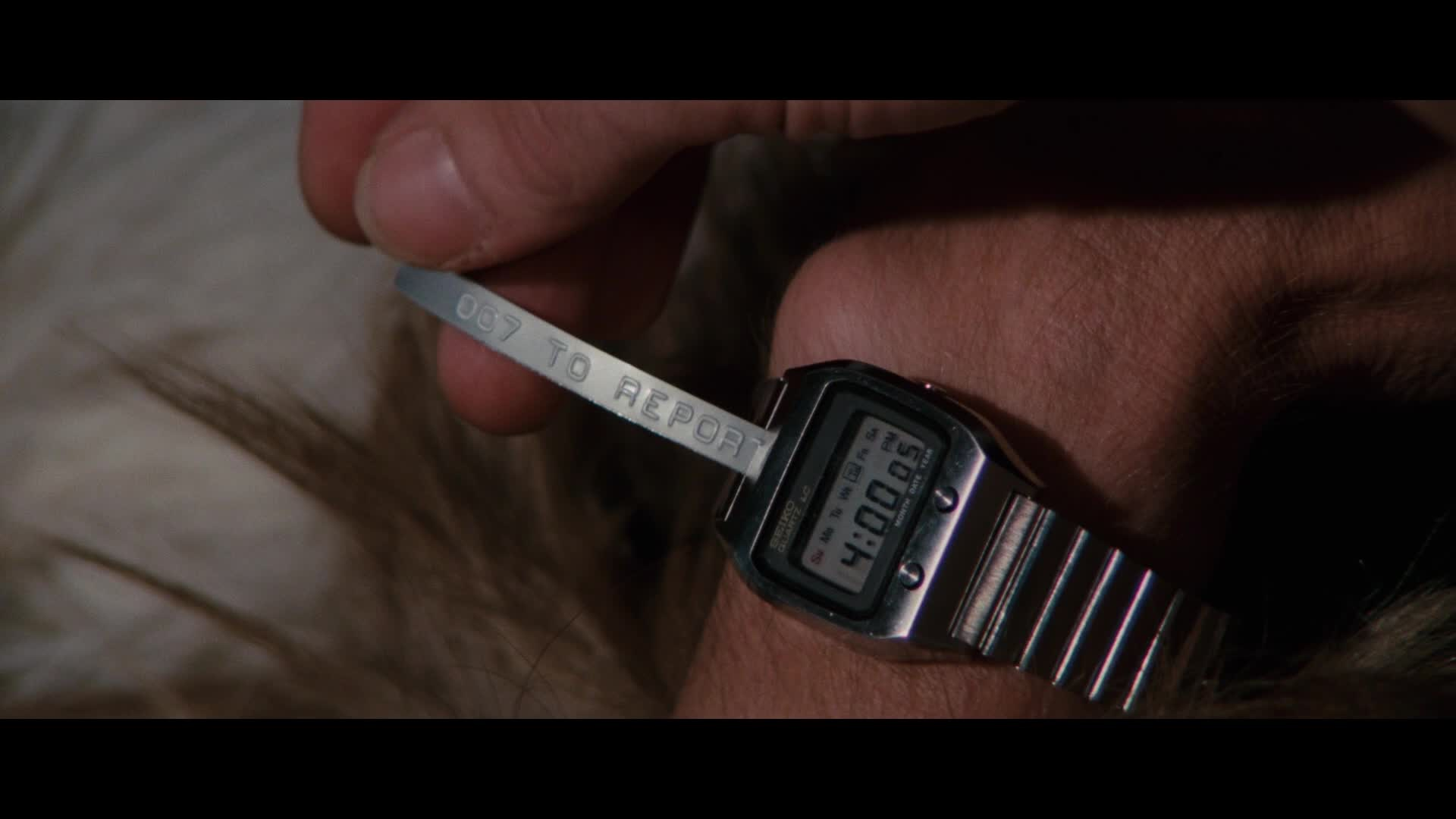 Watches In The Spy Who Loved Me 1977 Thespywholovedmejamesbond