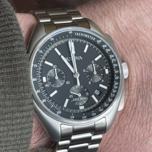 Bulova lunar pilot limited edition moon watch