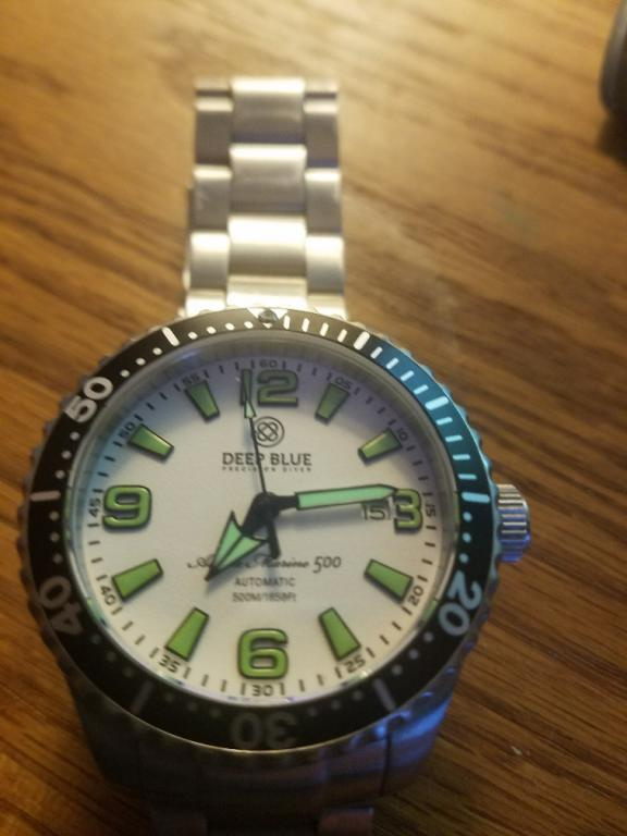 Deep blue alpha marine 500 xezo air commando price reduced watch freeks for Xezo watches