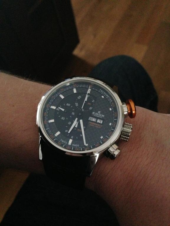 Pictures!!!  New arrival  EDOX WRC Chronorally automatic 83809f11f61