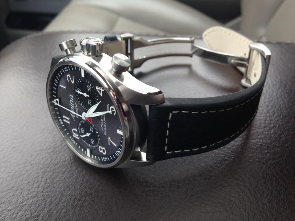 Alpina Pilot Chrono Arrived Watch Freeks - Alpina watch review