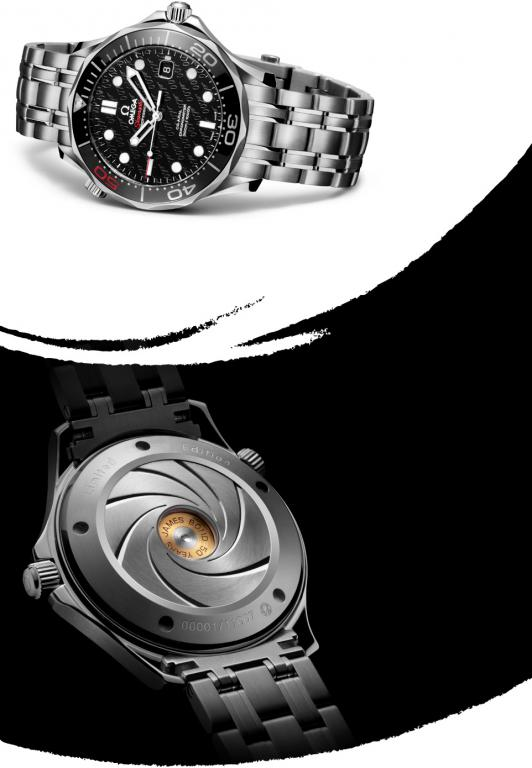 James Bond 007 50th Anniversary Collector's Piece Seamaster Co-Axial 300M 2