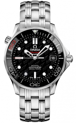 James Bond 007 50th Anniversary Collector's Piece Seamaster Co-Axial 300M 3