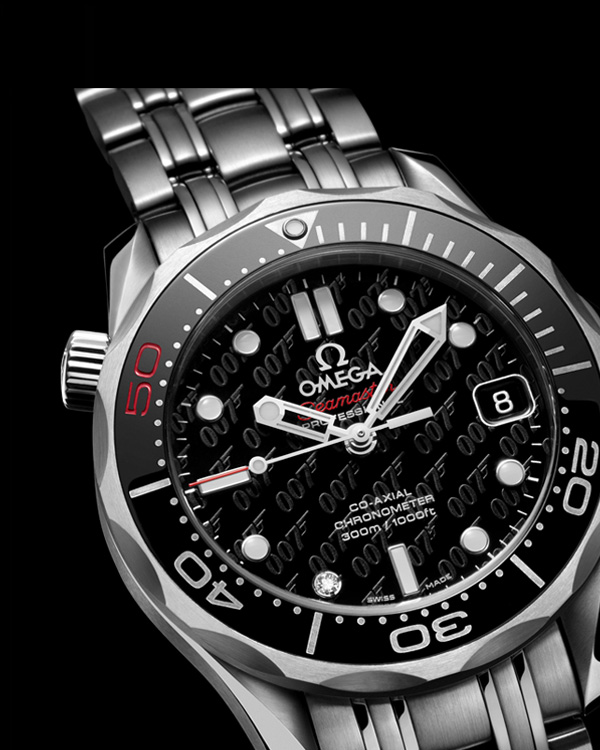 James Bond 007 50th Anniversary Collector's Piece Seamaster Co-Axial 300M 5