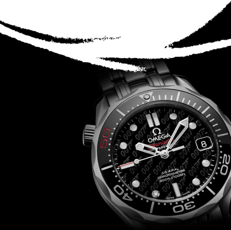 James Bond 007 50th Anniversary Collector's Piece Seamaster Co-Axial 300M 6