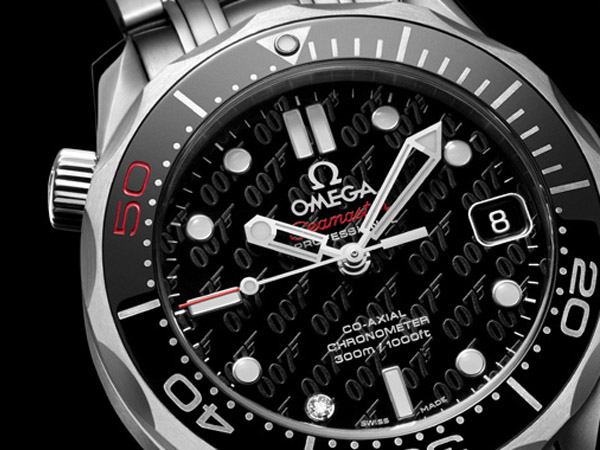James Bond 007 50th Anniversary Collector's Piece Seamaster Co-Axial 300M 7